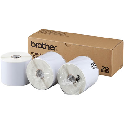 BROTHER RD-S07J2 長尺紙テープ 幅76mm