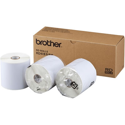 BROTHER RD-S08J2 長尺紙テープ 幅90mm
