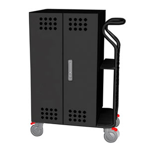 Tablet*Cart SMALL タブレット20台収納キャビネットカート ブラック
