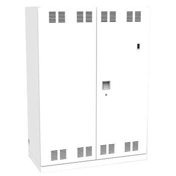 タブレットPC充電保管庫 トレー式45台 壁面収納タイプ ネオホワイト