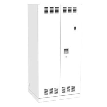 タブレットPC充電保管庫 トレー式25台 壁面収納タイプ ネオホワイト