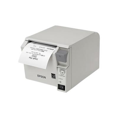 EPSON TM702US201 レシートプリンター 紙幅80mmモデル クールホワイト