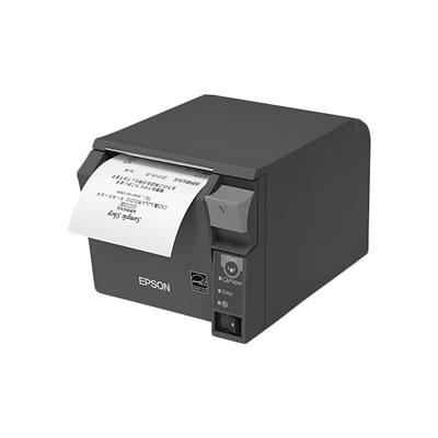 EPSON TM702US202 レシートプリンター 紙幅80mmモデル ダークグレー