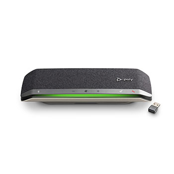Poly SYNC40+ 高音質スピーカーマイク 集音範囲2.5m Bluetoothドングル付き