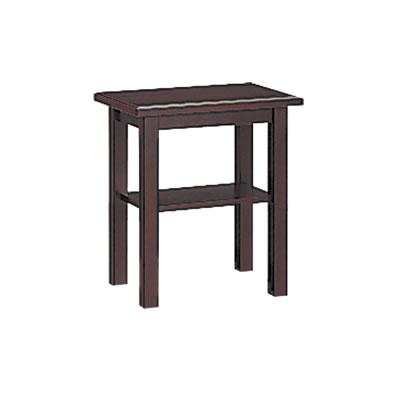 サービステーブル ダークブラウン 高さ700mm