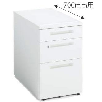 インサイドワゴン 3段(C3) 幅395×奥行600mm ホワイト