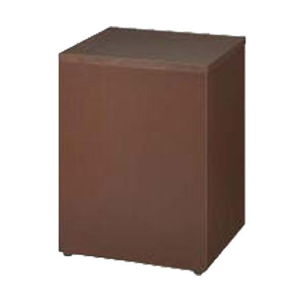 花台 幅450×奥行450×高さ600mm ダークブラウン