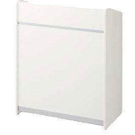 講演台 幅900×奥行450×高さ1100(天板高900)mm ホワイト