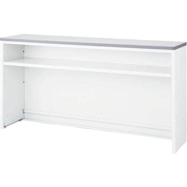 ハイカウンター NS インフォメーションタイプ 幅1800 本体色:ホワイト 天板色:ホワイト