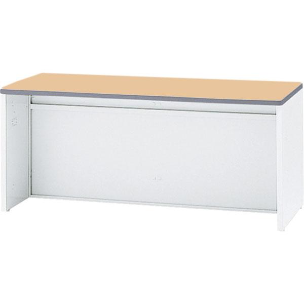 ローカウンター NS 幅1600 本体色:ホワイト 天板色:ペールアルダー