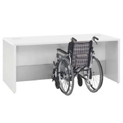 車椅子対応ローカウンター 1800幅 ホワイト