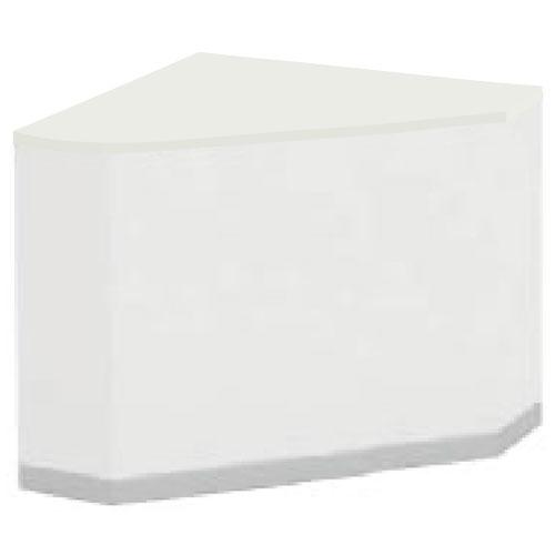 ローカウンター 角フォルムコーナー クローズタイプ ホワイト