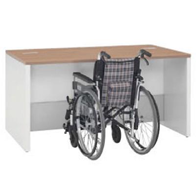 車椅子対応ローカウンター 1500幅 ネオウッドミディアム