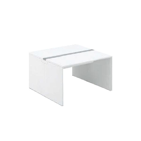 フリーウェイ 両面デスク 基本型 パネル脚 幅1400×奥行1400mm ホワイト