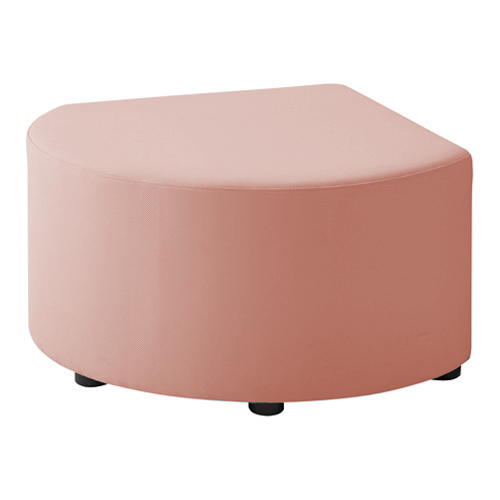 LB79ボックスロビーソファ スツール異形B ピンク