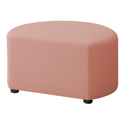 LB79ボックスロビーソファ スツール異形A ピンク