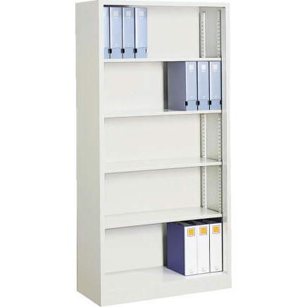 コクヨ オープン書庫 下置用  幅880 奥行400 高さ1850 ニューグレー