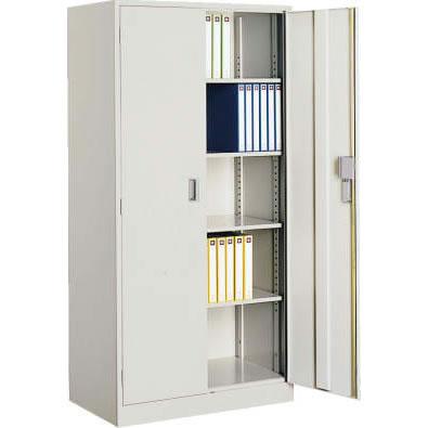 コクヨ スチール両開き書庫 下置用  幅880 奥行515 高さ1790 ニューグレー