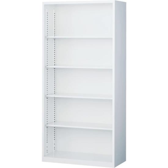 オープン書庫 下置用 ホワイト 幅880×奥行400×高さ1850mm