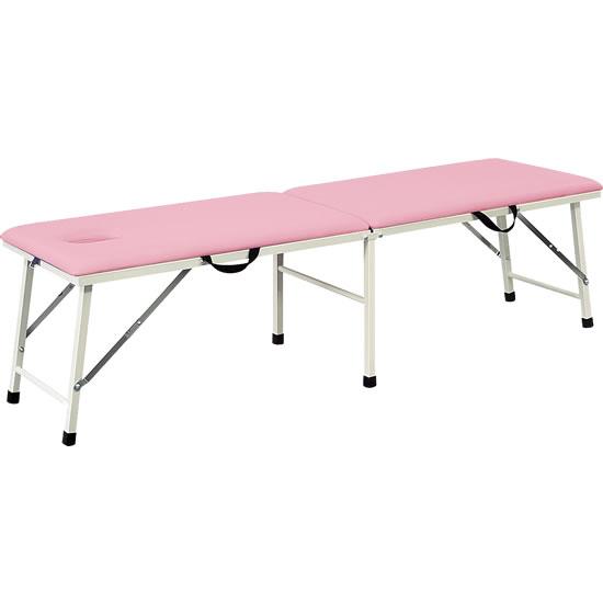 ポータブルベッド ピンク 有孔タイプ