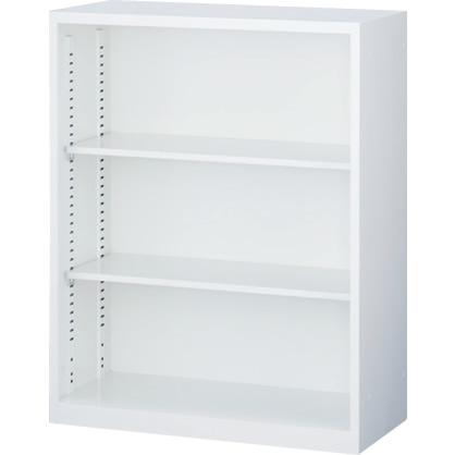 オープン書庫 下置用 ホワイト 幅880×奥行400×高さ1120mm