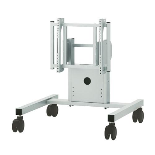 ローポジション 中・大型用ディスプレイスタンド 可動脚タイプ シルバー