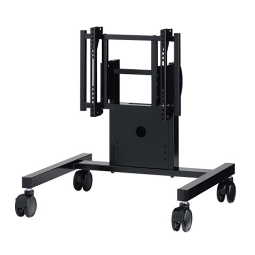 ローポジション 中・大型用ディスプレイスタンド 可動脚タイプ ブラック