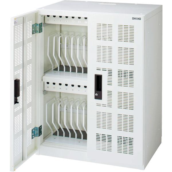 タブレット・スレートPC充電収納保管庫 固定型(30台・一括収納)