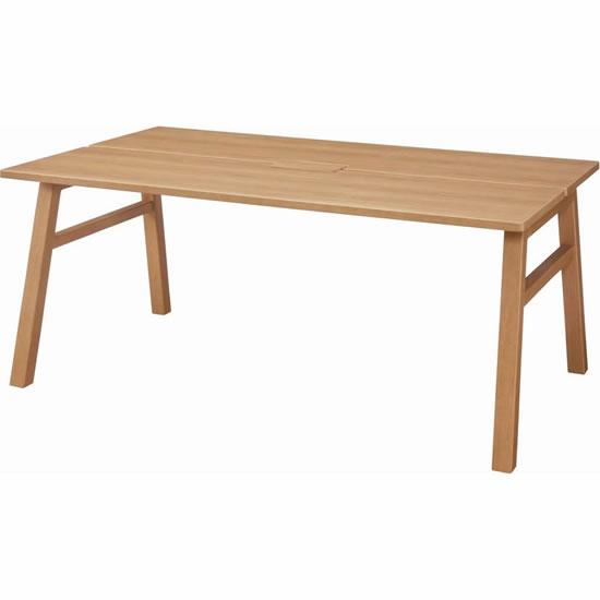 シェアードスペース ワークテーブル 木製 ワイド 幅1800mm