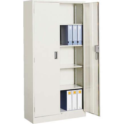 コクヨ スチール両開き書庫 下置用  幅880 奥行600 高さ1790 ニューグレー