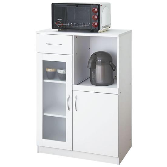 キッチンキャビネット ロータイプ ホワイト