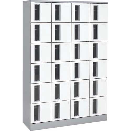 共用スペースザパート扉付24人窓付鍵無 ネオホワイト