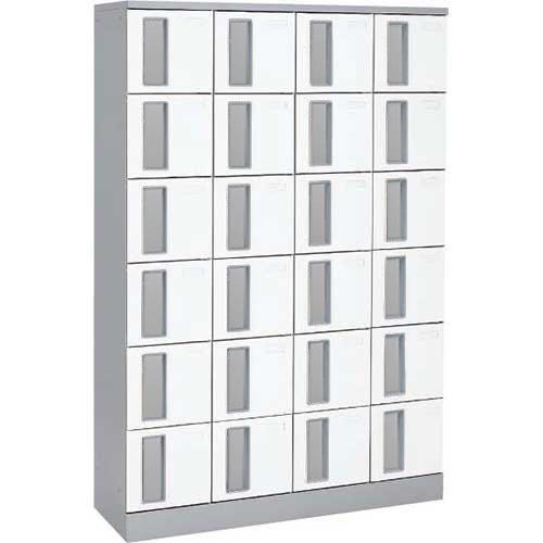 共用スペースザパート扉付24人窓無鍵無 ネオホワイト