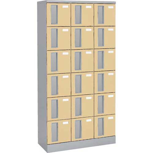 共用スペースザパート扉付18人窓無鍵無 ネオウッドライト