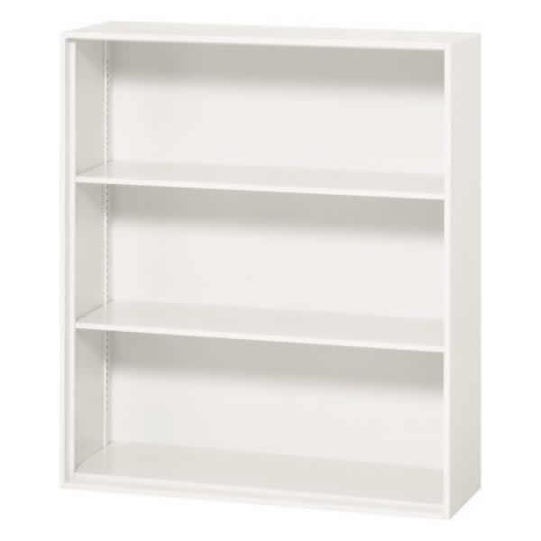 オープン書庫 ホワイト 幅900×奥行310×高さ1030mm