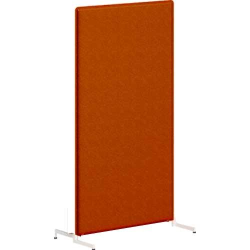 ライブスパネル スタンディング フラット 高さ1700 オレンジレッド/ライトグレー
