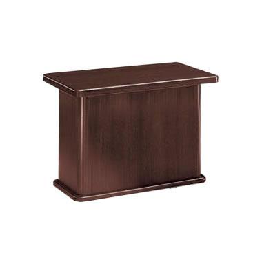 応接用サイドテーブル 幅450 奥行700 高さ500 ローズブラウン
