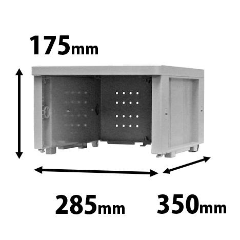 プラスチックロッカー オープン SSタイプ 連結専用
