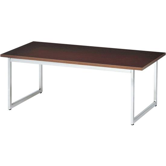 センターテーブル ループ脚 ウォールナット