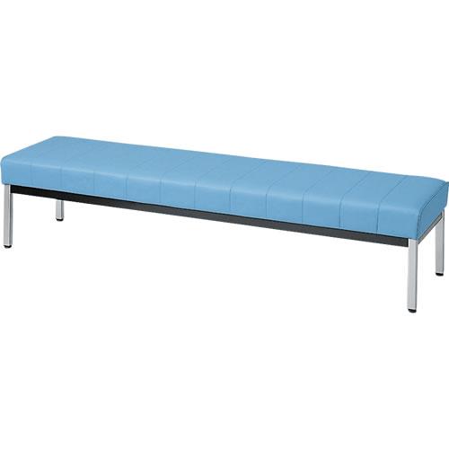 ロビーチェア ベンチロータイプ 1800幅 ブルー